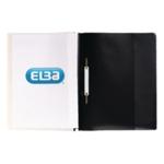 Elba Quotation Folder A4 Black Pk25