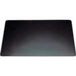 Durable 400x530mm Black Desk Mat 7102/01