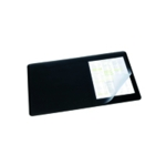 Durable Clear/Black 400x530mm Desk Mat