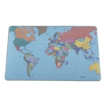 Durable Desk Mat World Map 400x530 7211
