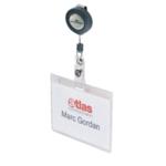 Durable Pass Holder Badge Reel Pk10