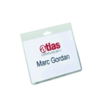 Durable Security Badge 60x90mm Pk20