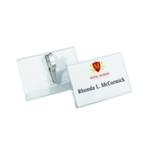 Durable Croc Clip 55x90mm Name Badge