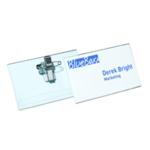 Durable NBadge 54x90mm Combi Clip Pk50