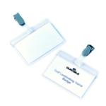 Durable SelfLam Name Badge 54x90mm Pk25