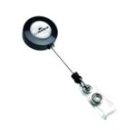 Durable Badge Reel Charcoal Pk10