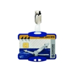 Durable Blue Security Pass Holder Pk25