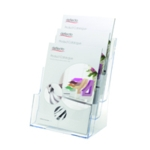 Deflecto A4 3Tier Literature Holder