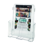 Deflecto A4 Clr Literature Holder 78001