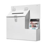 Deflecto White Ballot Suggestion Box