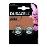 Duracell 3V DL2032 Battery Lithium Pk2