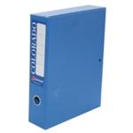 Rexel Colorado Box File A4 Blue Pk5