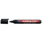 Edding 300 Perm Bullet Marker Blk Pk10