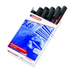 Edding 330 Perm Marker Chisel Blk Pk10