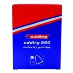 Edding 950 Ind Paint Marker Yellow Pk10