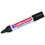 Edding 500 Chisel Perm Marker Black Pk10