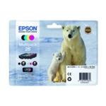 Epson 26 Bk/C/M/Y Cartridge Pack T2616