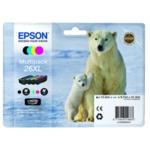 Epson 26XL Bk/C/M/Y Cartridge Pack T2636
