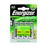 Energizer R/chgbl AA Battery 2000MaH Pk4