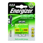 Energizer R/chrgble AAA Battery HR03 Pk2
