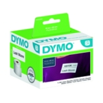 Dymo White Badge Label 89x41mm Pk300