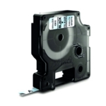 Dymo Blk/Clr 1000/5000 Tape 6mmx7m 43610