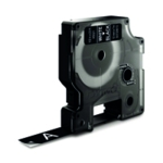 Dymo Wht/Bk 1000/5000 Tape 12mmx7m 45021