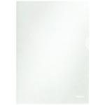 Esselte Clear Embossed A4 Folder Pk100