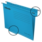 Esselte Cl/Eco Blue A4 Susp Files Pk25