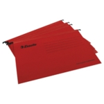 Esselte Red A4 Suspension File Pk25