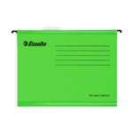 Esselte Cl/Eco A4 Green Susp Files Pk25