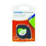 Dymo Prl/Wht Letratag 12mmx4m S0721510