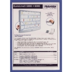 Franken A4 Blue Document Holder Magn Pk5