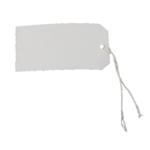 White Single Strung Tags 5CKL Pk75