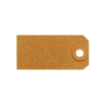Unstrung 4A 108x54mm Buff Sng Tags P1000