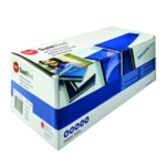 GBC A4 Blue Secure Binding Strips Pk100
