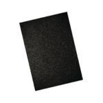 GBC Leather A4 Bind Cvr 250gsm Black