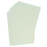 GBC Leather A4 Bind Cvr 250gsm White
