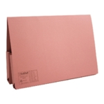 Guildhall Double Pkt Wallet Pink Pk25