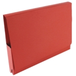 Guildhall Pocket Wallet 14x10in Red Pk50