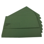 Guildhall Document Wallets Fs Green Pk50