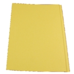 Guildhall Sq Cut Folder 315g Ylw Pk100