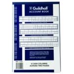 Guildhall 8 Cash Columns Account Book