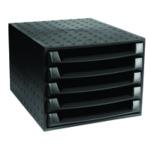 Forever Black 5-Drawer Set 221014D