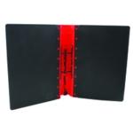 Guildhall GL Ergogrip Binder A4 Red Pk2