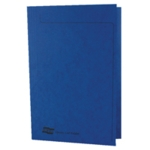 Europa Sq Cut Folder 300mic A4 Blue Pk50