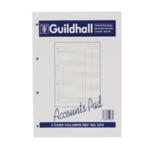 Guildhall 2 Column Account Pad A4 GP2