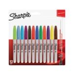 Sharpie Permanent Marker Fine Asstd Pk12