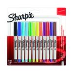 Sharpie Ultra Fine Marker Assorted Pk12