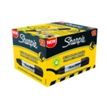 Sharpie Magnum Chisel Marker XL Blk Pk12